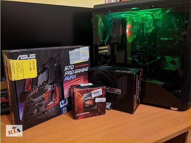 бу Комплект: Мат. плата(ASUS 970 Pro)+Процессор(FX8320)+8Gb EVGA 2133MHz в Киеве