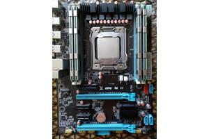 Комплект x79, E5 2670 (8 ядер), Samsung 16 GB