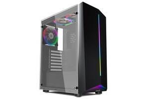 Корпус 1stPlayer R6-A-R1 Color LED