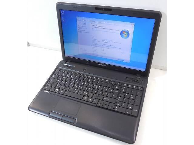 Красивый ноутбук Toshiba Satellite C660 (core i3, 4 гига).- объявление о продаже  в Киеве