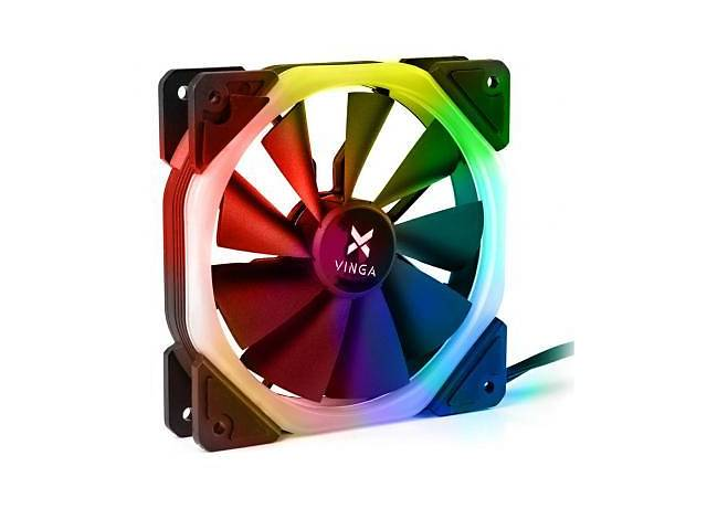 купить бу Кулер для корпуса Vinga RGB fan-05 в Харькове