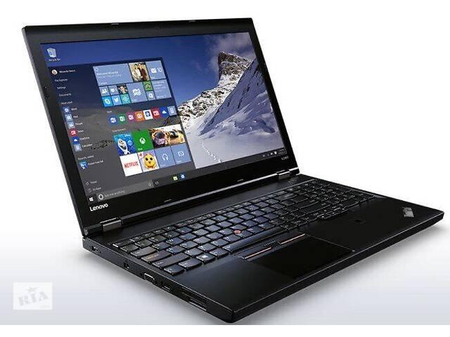 """продам Ноутбук Lenovo ThinkPad L560 / 15.6"""" (1920x1080) IPS / Intel Core i5-6300U (2 (4) ядра по 2.4 - 3.0 GHz) / 8 GB DDR3L... бу в Киеве"""