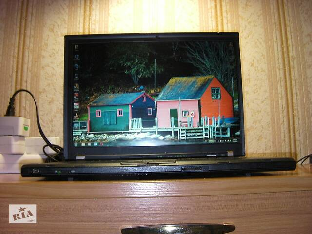 Lenovo ThinkPad T61 15 Дюймов WSXGA+ LCD Intel T7500 2.2ГГц-2.4ГГц 4ГБ/160ГБ+2ГБ Новое 90-Вт З/У Рабочая Батарея США #54- объявление о продаже  в Тернополе