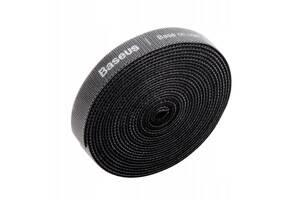 Лента - кабельный органайзер Baseus Circle Velcro strap 100 см. Black