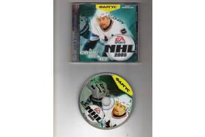 Лицензионные CD с играми (Fifa.Nhl).