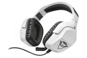 Майже нові навушники Trust GXT 354 Creon 7.1 Bass Vibration Headset USB білі