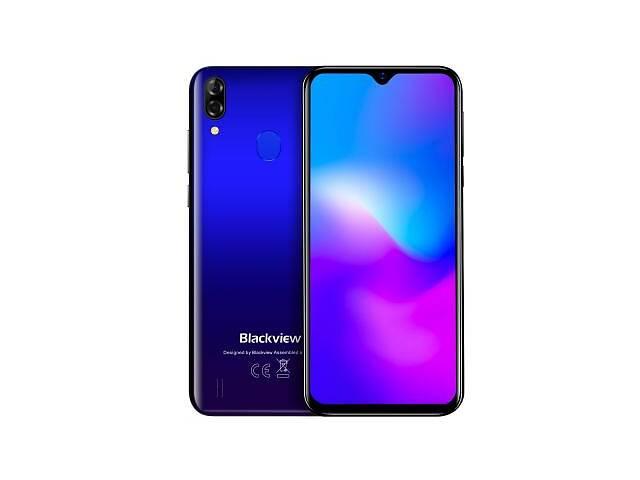 купить бу Мобільний телефон Blackview A60 Pro 3 / 16GB Gradient Blue в Червонограде