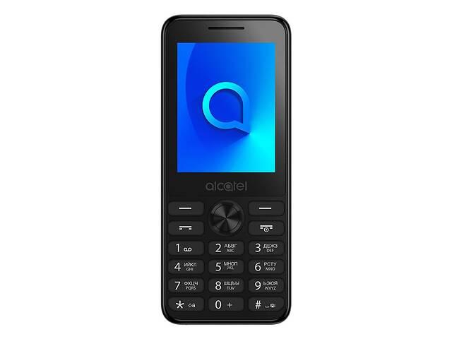 купить бу Мобильный телефон Alcatel 2003 Dual Sim Dark Gray (2003D-2AALUA1); 2.4 (240x320) TN / кнопочный моноблок / Spreadtrum... в Харькове