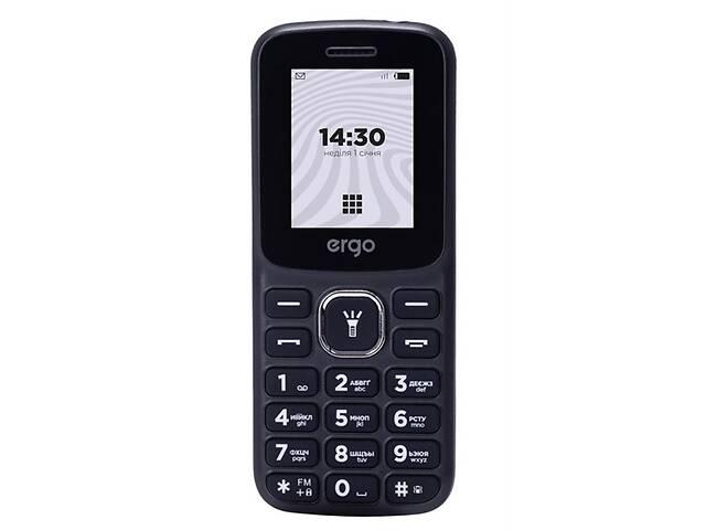 бу Мобильный телефон Ergo B182 Dual Sim Black; 1.7 (160х128) TFT / кнопочный моноблок / Spreadtrum SC6531 / ОЗУ 32 МБ /... в Харькове