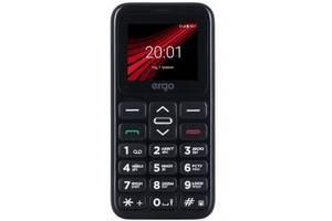 Мобільний телефон Ergo F186 Solace Black