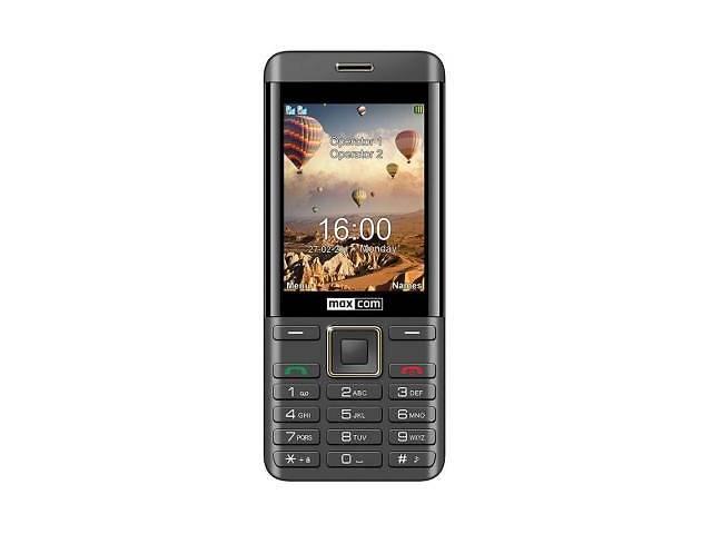 Мобильный телефон Maxcom MM236 Black-Gold (5908235974088)- объявление о продаже  в Харькове