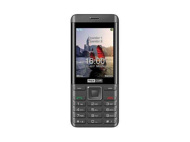 купить бу Мобильный телефон Maxcom MM236 Black-SIlver (5908235974071) в Харькове
