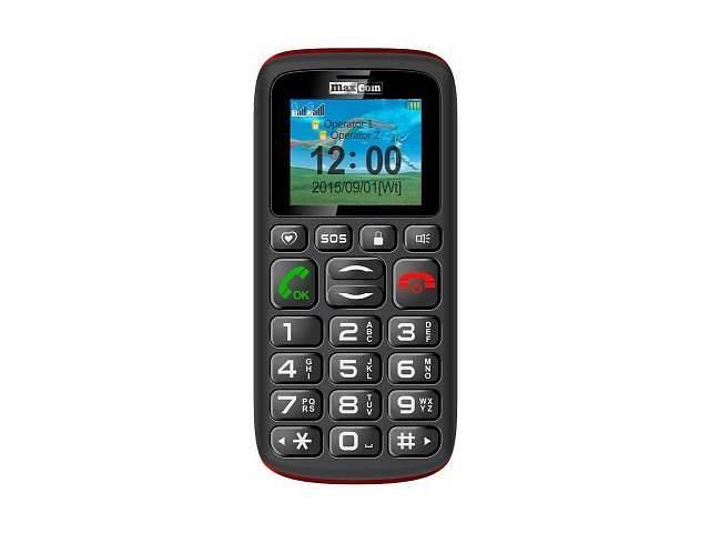 бу Мобильный телефон Maxcom MM428 Black (5908235973630) в Харькове