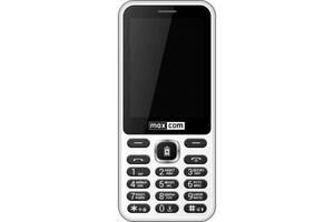Мобильный телефон Maxcom MM814 White