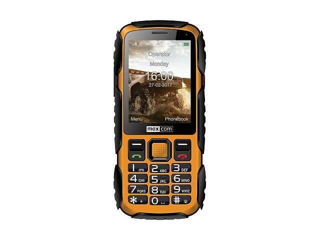 бу Мобильный телефон Maxcom MM920 Black Yellow (5908235974019) в Харькове