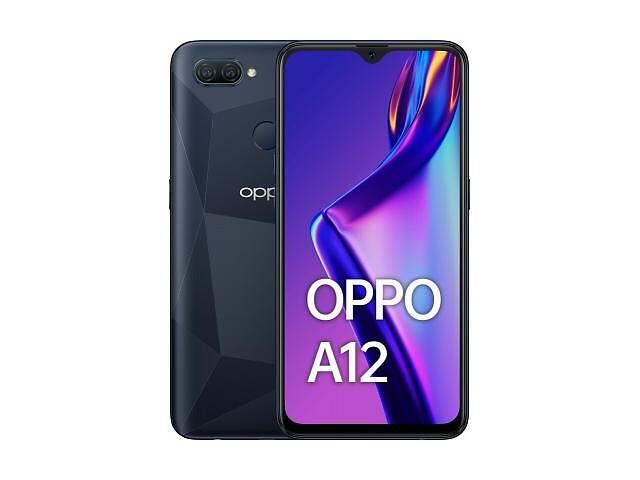 купить бу Мобильный телефон Oppo A12 3/32GB Black (OFCPH2083_BLACK_3/32) в Харькове