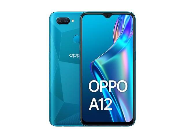 купить бу Мобильный телефон Oppo A12 3/32GB Blue (OFCPH2083_BLUE_3/32) в Харькове