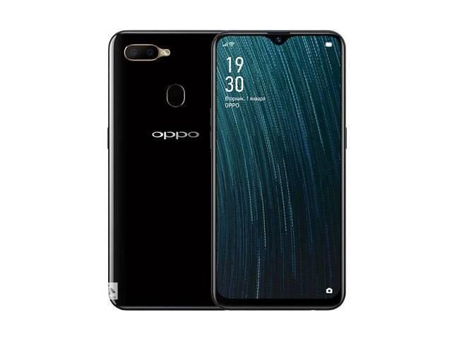 купить бу Мобильный телефон Oppo A5s 3/32GB Black (OFCPH1909_BLACK) в Харькове