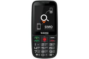 Мобильный телефон Sigma mobile Comfort 50 Elegance3 Black (1600mAh) SIMO Assistant