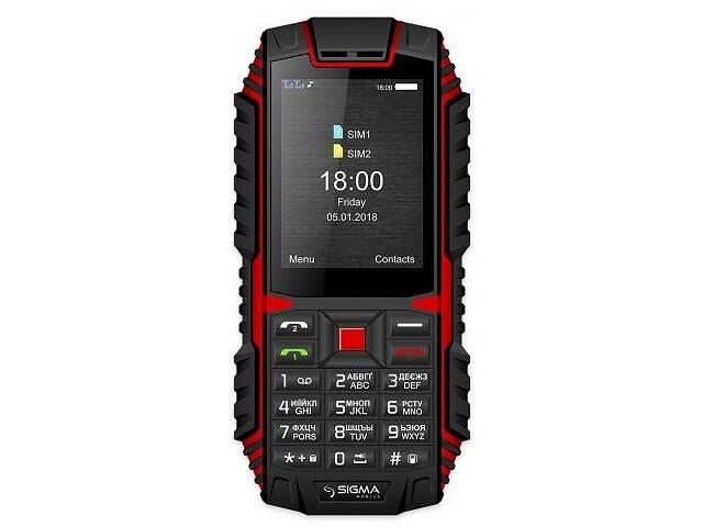 бу Мобильный телефон Sigma mobile Х-treme DT68 Dual Sim Black/Red (4827798337721); 2.4 (320х240) TN / клавиатурный моноб... в Харкові