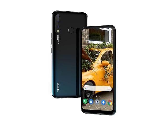 купить бу Мобильный телефон TECNO CC7 (Camon 12) Dark Jade (4895180750915) в Харькове