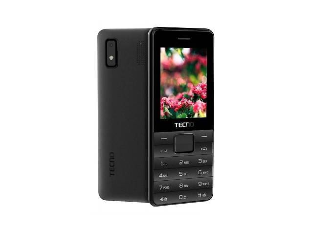 продам Мобильный телефон TECNO T372 TripleSIM Black (4895180746833) бу в Харькове