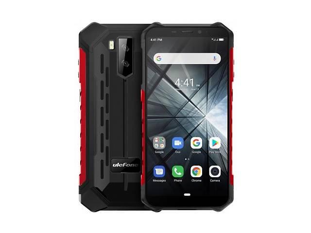 бу Мобильный телефон Ulefone Armor X3 2/32GB Black Red (6937748733225) в Одессе
