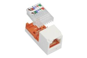 Модуль Keystone Panduit Mini-Com RJ45 UTP (CJ588AWY)