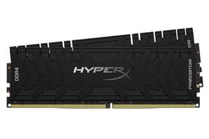 Модуль памяти DDR4 2x8GB/4000 Kingston HyperX Predator (HX440C19PB4K2/16)