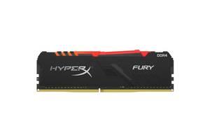 Модуль памяти для компьютера DDR4 8GB 3600 MHz HyperX Fury RGB Kingston (HX436C17FB3A/8)
