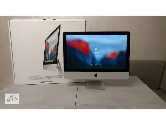 """бу Моноблок Apple iMac A1418,  21.5"""" IPS FHD/Intel Core i5/RAM 8 GB/HDD 1 TB/Intel HD Graphics 6000. Як новий. в Львове"""