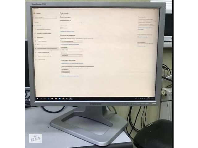 купить бу Монитор Samsung SyncMaster 214T 21.3″ в Одессе
