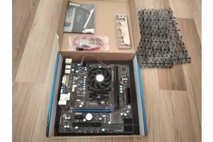 MSI A55M-P33+AMD Athlon II X4 651К+DDR3-8G(2x4G)1333G