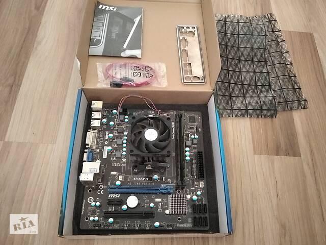 купить бу MSI A55M-P33+AMD Athlon II X4 651К+DDR3-8G(2x4G)1333G  в Украине