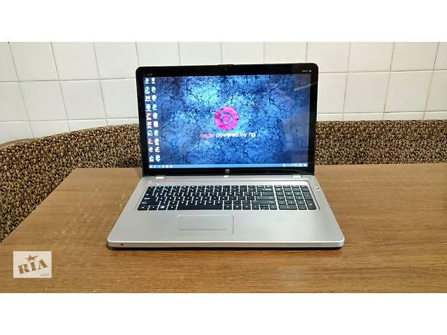 купить бу Мультимедийный ноутбук HP Envy LW901AV, 17,3'' 3D FHD, i7-2670QM 4ядра, 8GB, 128GB SSD+640GB, Radeon 6770M 1GB. Гарантия  в Украине