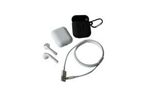 Мікронавушники Bluetooth Moxom White (2372)
