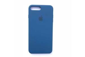 Чехол Silicone Case для Apple iPhone 7 Plus, 8 Plus Ocean Blue
