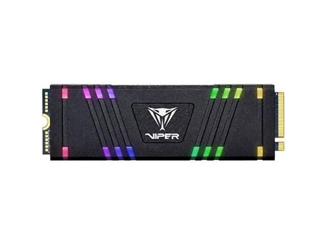 купить бу Накопитель SSD  512GB Patriot VPR100 RGB M.2 2280 PCIe 3.0 x4 3D TLC (VPR100-512GM28H) в Харькове