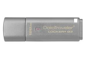 Накопитель USB 3.0 KINGSTON DT Locker+ G3 128GB (DTLPG3/128GB)