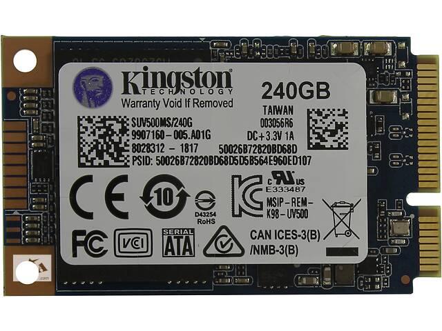 купить бу Накопители SSD KINGSTON mSATA 240GB UV500 3D TLC (SUV500MS/240G) в Киеве