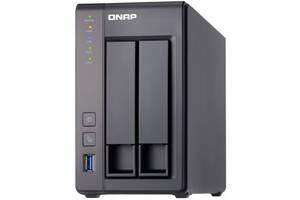NAS сервер QNAP TS-251+ ОЗУ 2 ГБ