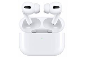 "Наушники беспроводные ""Air TWS Pro"" Original with PopUp + wireless charger White"