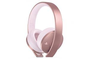 Наушники Sony PlayStation Gold Wireless Headset Rose Gold