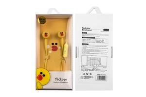 Наушники XOKO M-Cartoons-2 Yellow