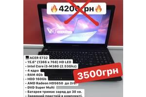 Ноутбук Acer i3-4x2.53Ghz 4 ядра /4GB/160HDD/HD5650