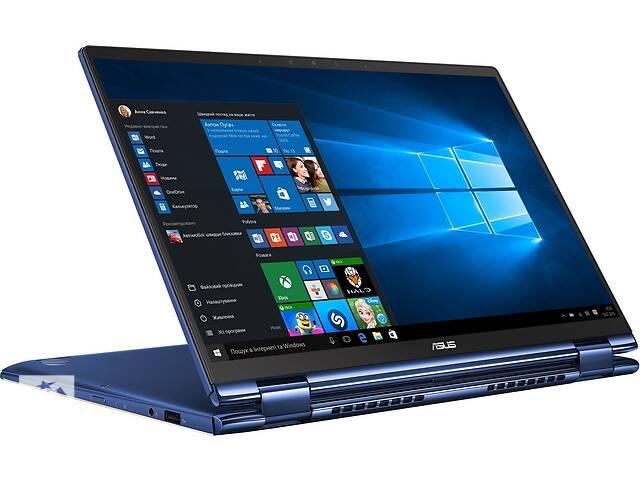 бу Ноутбук ASUS ZenBook Flip 13 UX362FA-EL205T (90NB0JC2-M07180) Royal Blue в Киеве