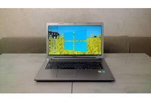 Ноутбук Lenovo IdeaPad Z710, 17,3 & quot;HD +, i3-4000M, 8 ГБ, 1 ТБ, GeForce GT 740M 2 ГБ. гарантия. Пересчет, наличные