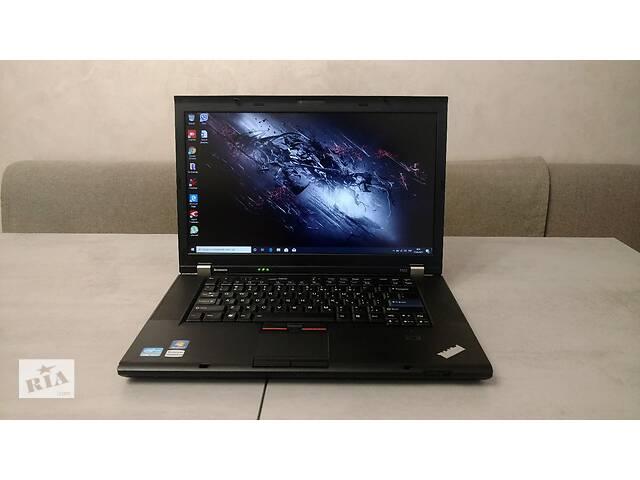 """бу Ноутбук Lenovo ThinkPad T520, 15.6"""" FHD, i5-2520M, 8GB, 500GB. Гарантія. Перерахунок, готівка   в Львове"""