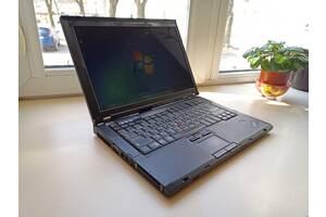Ноутбук Lenovo ThinkPad T61 (Intel 2x2GHz/RAM 2.5Gb/HDD 320Gb/АКБ 3ч.)