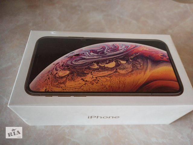 купить бу Новый iPhone Xs Gold 256 GB в Киеве